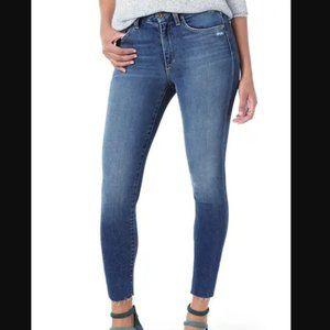 Joe's Jeans Hi Rise Honey Skinny Ankle 26 NEW